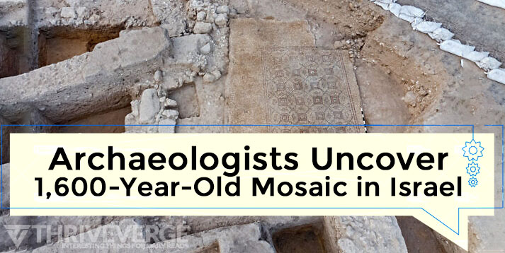 1,600-Year-Old Mosaic in Israel