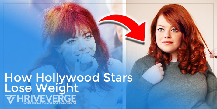 How Hollywood Stars Lose Weight